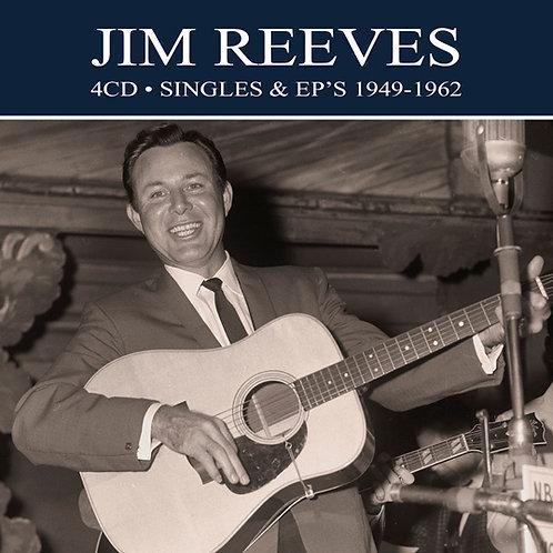 JIM REEVES • 4CD • SINGLES & EP'S 1949-1962