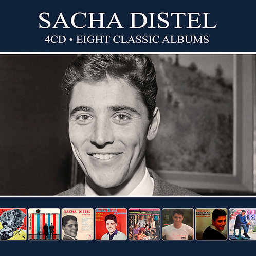 SACHA DISTEL • 4CD • EIGHT CLASSIC ALBUMS