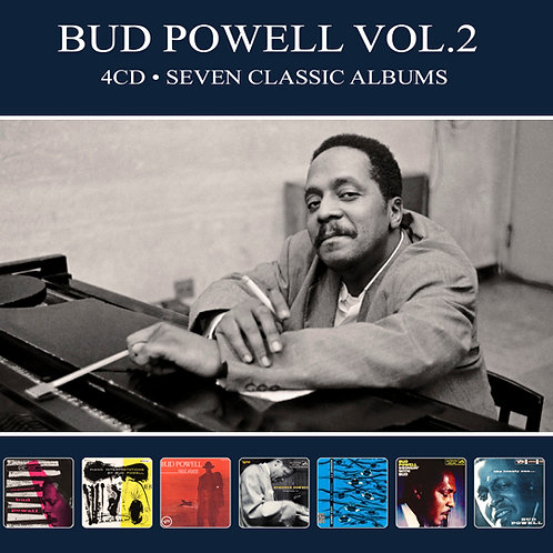 BUD POWELL VOL.2 • 4CD • SEVEN CLASSIC ALBUMS