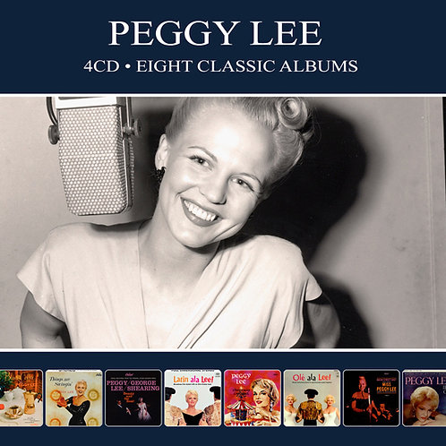 PEGGY LEE • 4CD • EIGHT CLASSIC ALBUMS