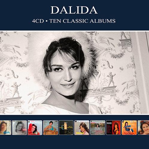 DALIDA • 4CD • TEN CLASSIC ALBUMS