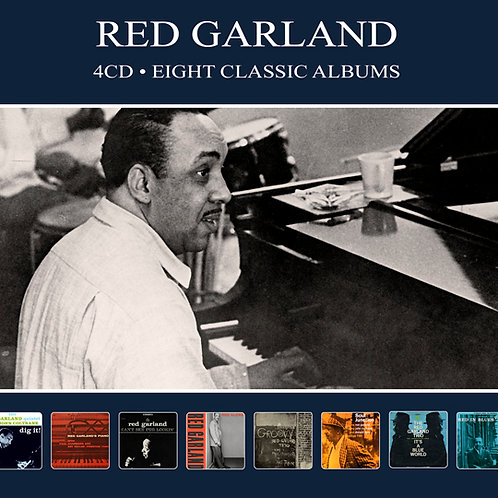 RED GARLAND • 4CD • EIGHT CLASSIC ALBUMS