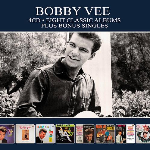 BOBBY VEE • 4CD • EIGHT CLASSIC ALBUMS PLUS BONUS SINGLES