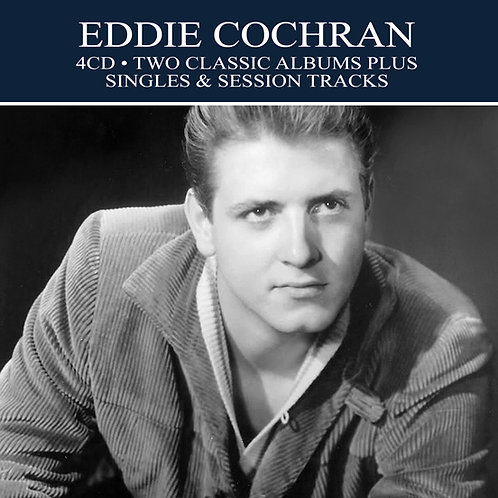 EDDIE COCHRAN • 4CD • TWO CLASSIC ALBUMS PLUS ....