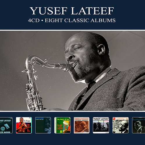 YUSEF LATEEF • 4CD • EIGHT CLASSIC ALBUMS