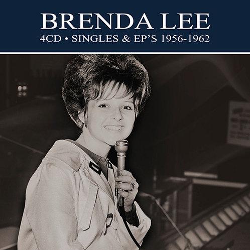 BRENDA LEE • 4CD • SINGLES & EP'S 1956-1962