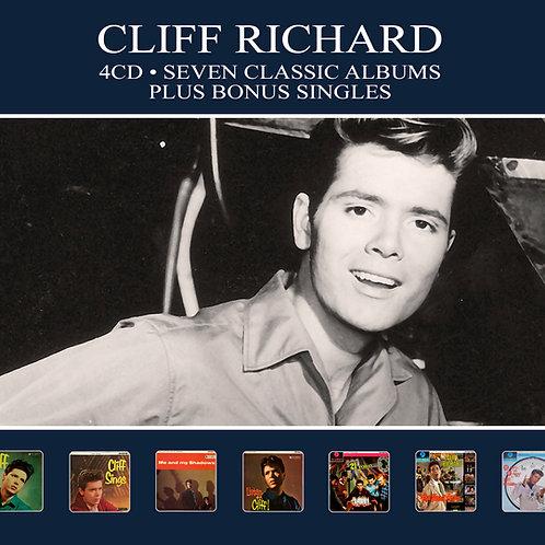 CLIFF RICHARD • 4CD • SEVEN CLASSIC ALBUMS PLUS BONUS SINGLES