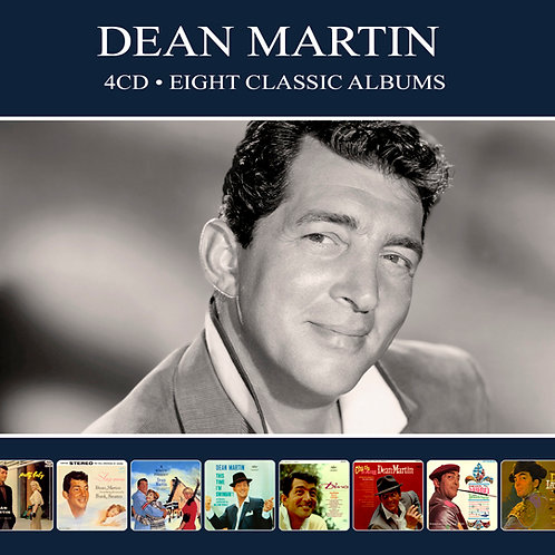 DEAN MARTIN • 4CD • EIGHT CLASSIC ALBUMS