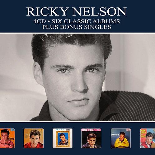 RICKY NELSON • 4CD • SIX CLASSIC ALBUMS PLUS BONUS SINGLES