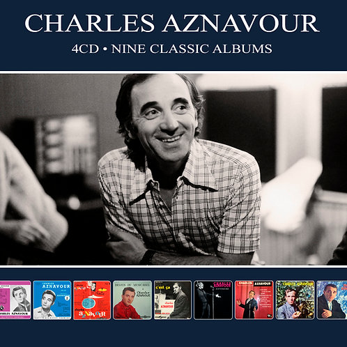CHARLES AZNAVOUR • 4CD • NINE CLASSIC ALBUMS