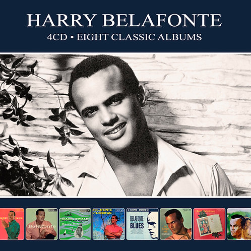 HARRY BELAFONTE • 4CD • EIGHT CLASSIC ALBUMS