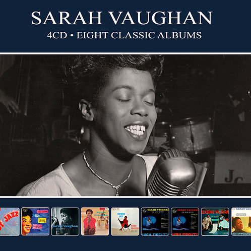 SARAH VAUGHAN • 4CD • EIGHT CLASSIC ALBUMS