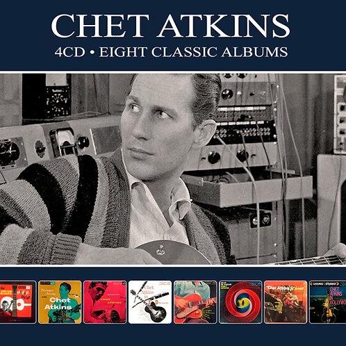 CHET ATKINS • 4CD • EIGHT CLASSIC ALBUMS