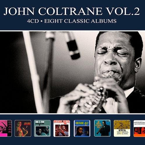 JOHN COLTRANE VOL.2 • 4CD • EIGHT CLASSIC ALBUMS