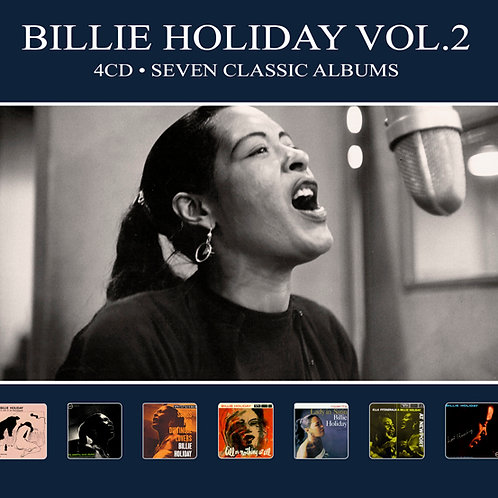 BILLIE HOLIDAY VOL.2 • 4CD • SEVEN CLASSIC ALBUMS