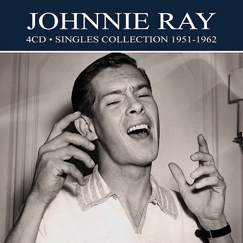 JOHNNIE RAY • 4CD • SINGLES COLLECTION 1951-1962
