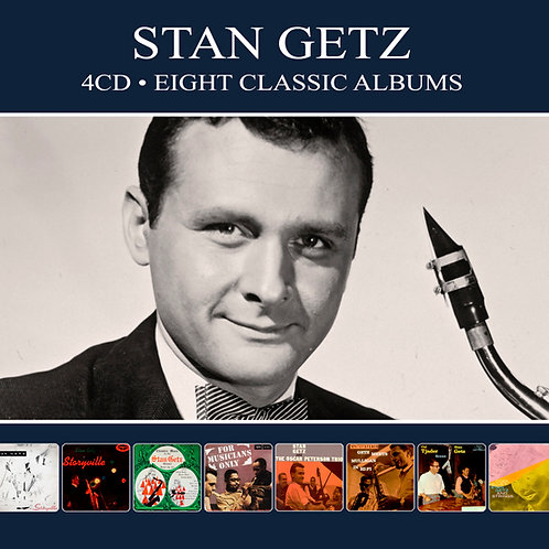 STAN GETZ • 4CD • EIGHT CLASSIC ALBUMS