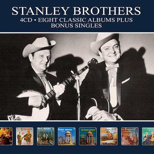 STANLEY BROTHERS • 4CD • EIGHT CLASSIC ALBUMS PLUS BONUS SINGLES