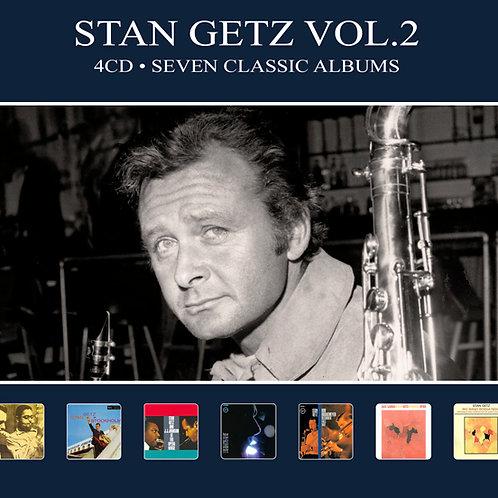 STAN GETZ VOL.2 • 4CD • SEVEN CLASSIC ALBUMS