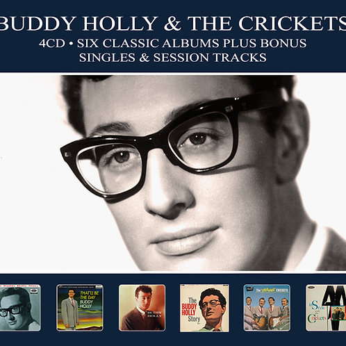 BUDDY HOLLY • 4CD • SIX CLASSIC ALBUMS PLUS ....