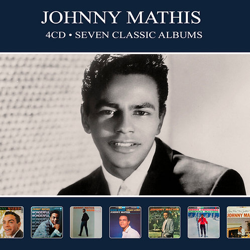 JOHNNY MATHIS • 4CD • SEVEN CLASSIC ALBUMS