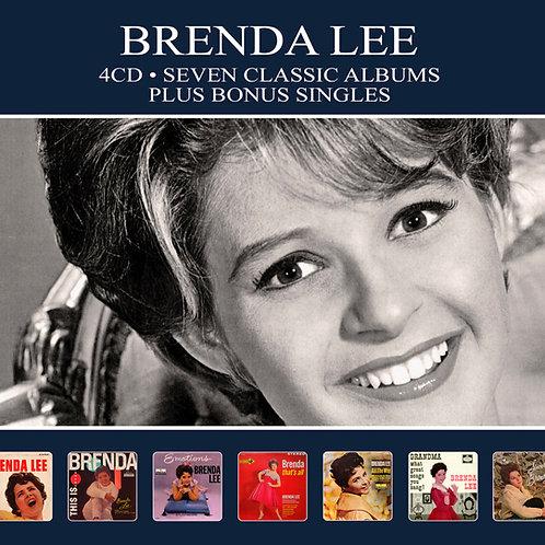 BRENDA LEE • 4CD • SEVEN CLASSIC ALBUMS PLUS BONUS SINGLES