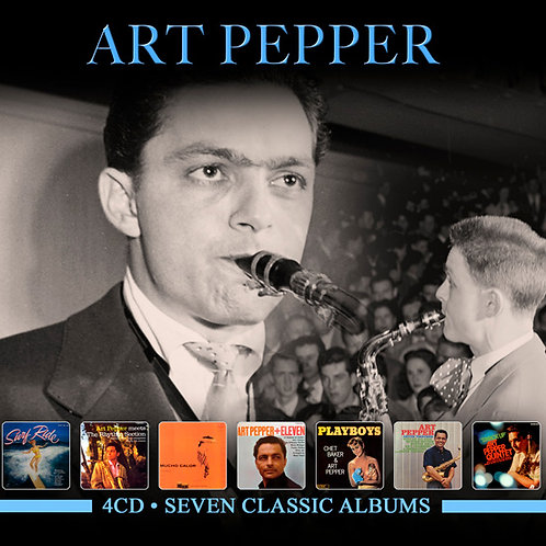 ART PEPPER • 4CD • SEVEN CLASSIC ALBUMS