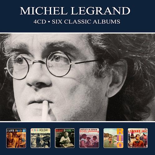 MICHEL LEGRAND • 4CD • SIX CLASSIC ALBUMS