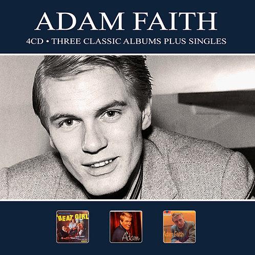 ADAM FAITH • 4CD • THREE CLASSIC ALBUMS PLUS SINGLES