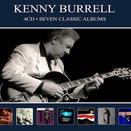 KENNY BURRELL • 4CD • SEVEN CLASSIC ALBUMS