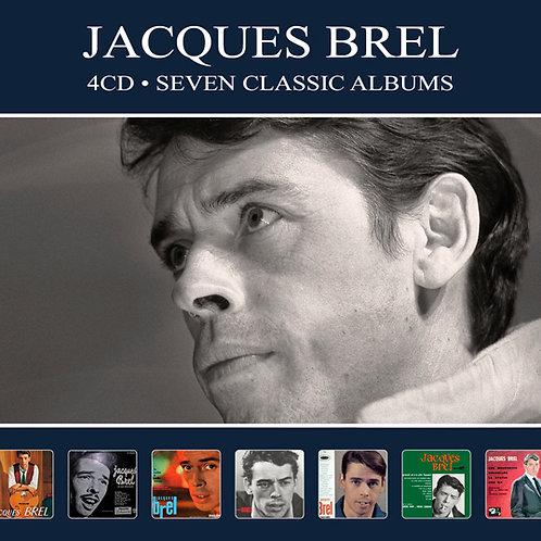 JACQUES BREL • 4CD • SEVEN CLASSIC ALBUMS