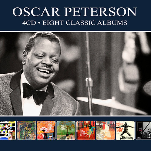OSCAR PETERSON • 4CD • EIGHT CLASSIC ALBUMS