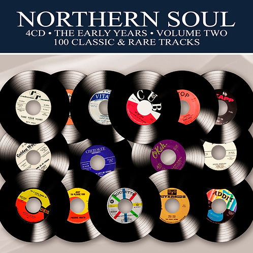 NORTHERN SOUL • 4CD • THE EARLY YEARS VOLUME TWO