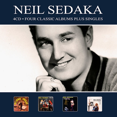 NEIL SEDAKA • 4CD • FOUR CLASSIC ALBUMS PLUS ...