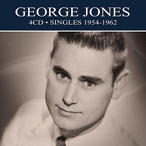 GEORGE JONES • 4CD • SINGLES 1954-1962
