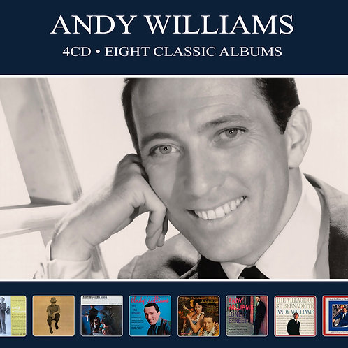 ANDY WILLIAMS • 4CD • EIGHT CLASSIC ALBUMS