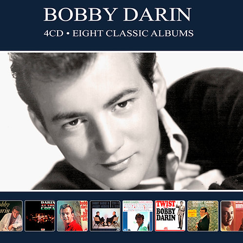 BOBBY DARIN • 4CD • EIGHT CLASSIC ALBUMS