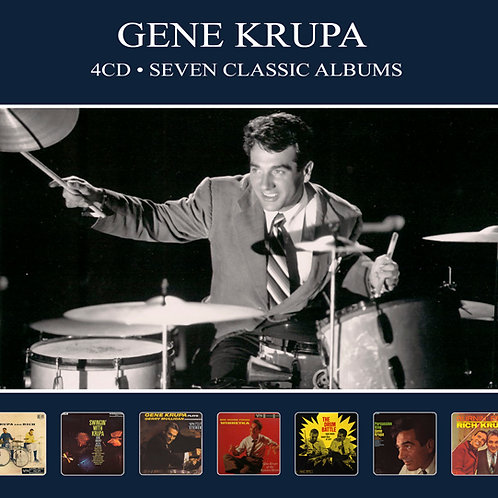 GENE KRUPA • 4CD • SEVEN CLASSIC ALBUMS