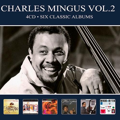 CHARLES MINGUS VOL.2 • 4CD • SIX CLASSIC ALBUMS