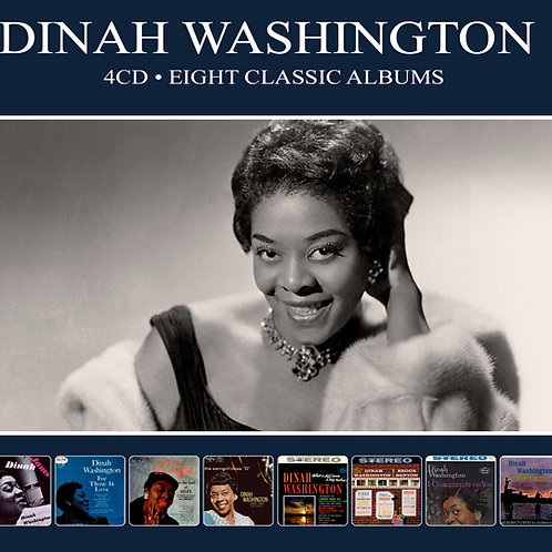 DINAH WASHINGTON • 4CD • EIGHT CLASSIC ALBUMS