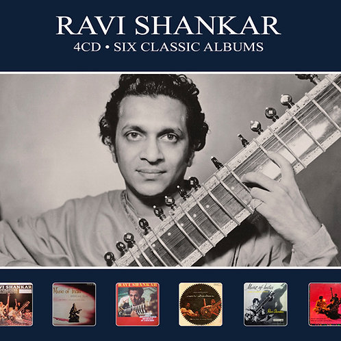 RAVI SHANKAR • 4CD • SIX CLASSIC ALBUMS