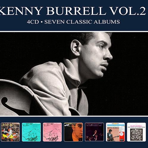 KENNY BURRELL VOL.2 • 4CD • SEVEN CLASSIC ALBUMS