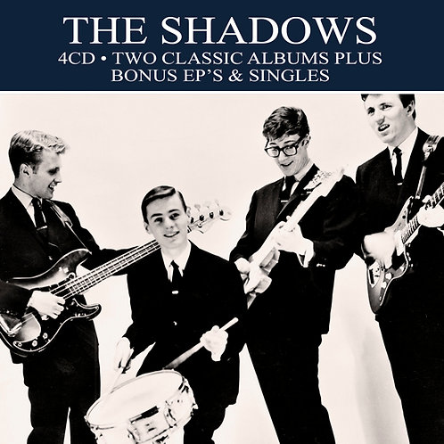 THE SHADOWS • 4CD • TWO CLASSIC ALBUMS PLUS ....
