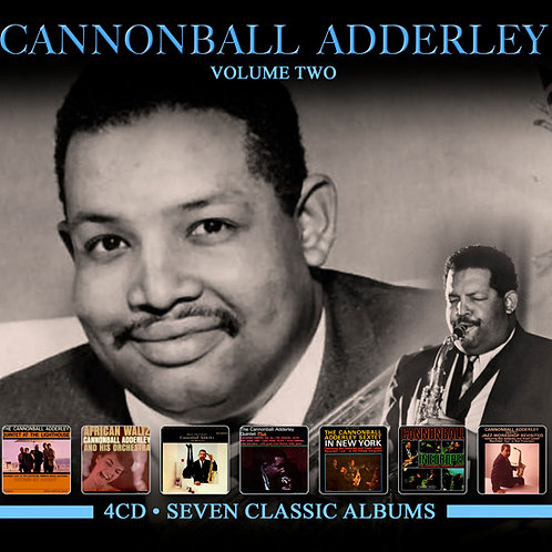 CANNONBALL ADERLEY • 4CD • SEVEN CLASSIC ALBUMS