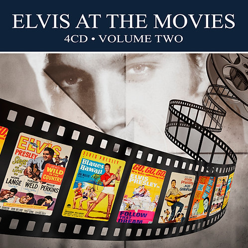 ELVIS AT THE MOVIES • 4CD • VOLUME TWO