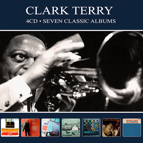 CLARK TERRY • 4CD • SEVEN CLASSIC ALBUMS