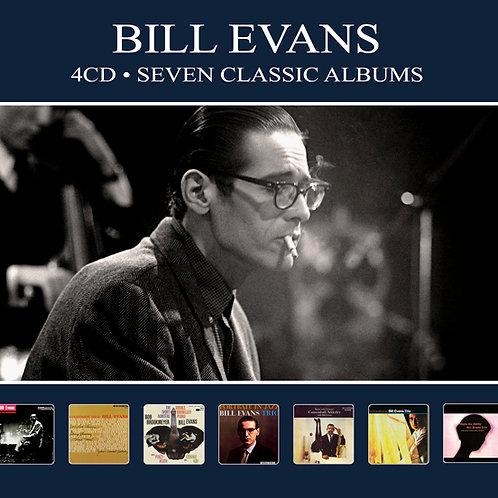BILL EVANS • 4CD • SEVEN CLASSIC ALBUMS