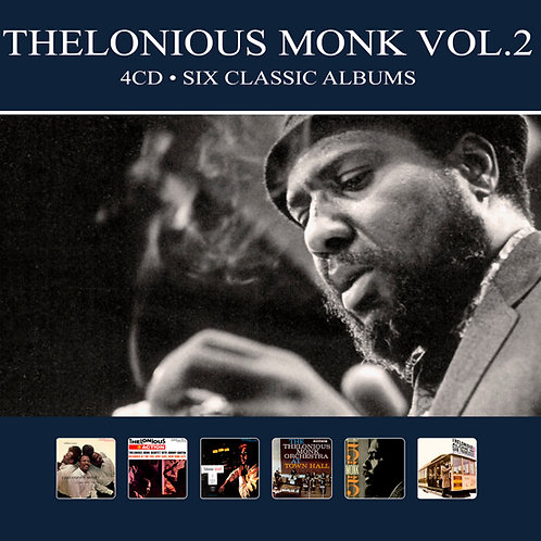 THELONIOUS MONK VOL.2 • 4CD • SIX CLASSIC ALBUMS