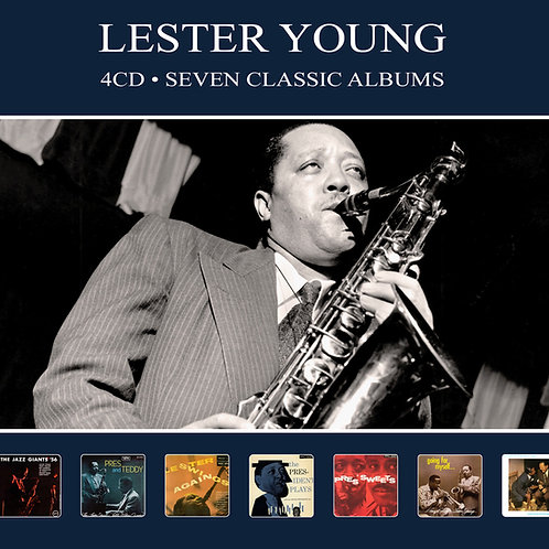 LESTER YOUNG • 4CD • SEVEN CLASSIC ALBUMS