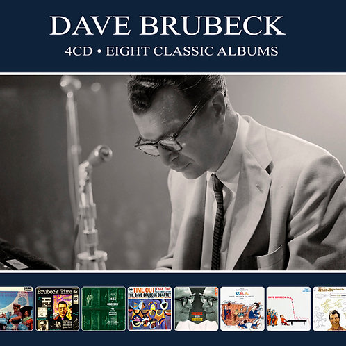 DAVE BRUBECK • 4CD • EIGHT CLASSIC ALBUMS